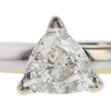 1.15 ct. Triangular Modified Cut Solitaire Ring, H-I, I1 #1