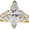 1.33 ct. Marquise Cut Right Hand Ring, G, VS2 #3