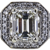 1.75 ct. Emerald Cut Bridal Set Ring, J, SI1 #4
