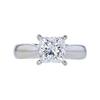 1.78 ct. Princess Cut Solitaire Ring, E, VVS2 #4