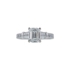 1.53 ct. Emerald Cut Ring, F, VS2 #3