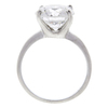 3.63 ct. Round Cut Solitaire Ring, F, I3 #3