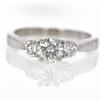 .90 ct. Round Cut 3 Stone Ring #3