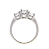 0.56 ct. Round Cut Bridal Set Ring, G-H, VS1-VS2 #2