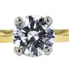 1.53 ct. Round Cut Bridal Set Ring, F, SI1 #4