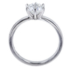 1.09 ct. Round Cut Solitaire Ring, G, VS1 #3