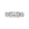 0.9 ct. Princess Cut Ring, G, SI1 #3