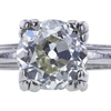 1.36 ct. Old European Cut Solitaire Ring, L, VS2 #4