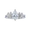 1.02 ct. Pear Cut Bridal Set Ring, G, VS2 #3