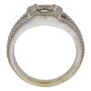 1.01 ct. Round Cut Halo Ring, J, I2 #4