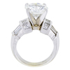3.78 ct. Round Cut Solitaire Ring, H, VS1 #3