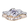 .65 ct. Round Cut Bridal Set Ring #1