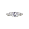 1.22 ct. Round Cut 3 Stone Ring, D, VS1 #3