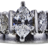 1.01 ct. Marquise Cut Solitaire Ring, F, SI1 #4