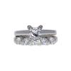 1.0 ct. Princess Cut Bridal Set Ring, I, SI2 #3