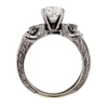1.20 ct. Round Cut Bridal Set Ring #1