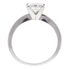 1.49 ct. Princess Cut Solitaire Ring, F, SI1 #4