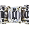 1.06 ct. Emerald Cut Solitaire Ring, G, VVS1 #2