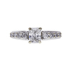 0.71 ct. Radiant Cut Solitaire Ring, E, VS2 #3