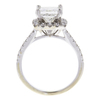 1.67 ct. Princess Cut Bridal Set Ring, H, I1 #2