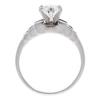 1.04 ct. Oval Cut Bridal Set Ring, D, SI2 #4