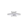 1.8 ct. Princess Cut Solitaire Ring, H, SI1 #4
