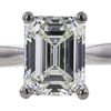 1.70 ct. Emerald Cut Solitaire Ring, I, SI1 #4