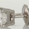 .83 ct. Princess Cut Stud Earring #2
