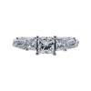 0.75 ct. Princess Cut Solitaire Ring, J, SI1 #3