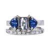 1.59 ct. Emerald Cut Bridal Set Ring, G, VS1 #3