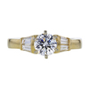 0.81 ct. Round Cut Solitaire Ring, E, I1 #3