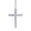Round Cut Pendant Tiffany & Co. Necklace, G-H, VS1-VS2 #2