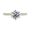 1.01 ct. Round Cut Solitaire Ring, I, VS2 #4