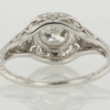 Art Deco 0.56 ct. European Cut Solitaire Ring #4