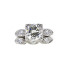 2.06 ct. Round Cut Bridal Set Ring, L, VS2 #3