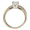 0.85 ct. Princess Cut Bridal Set Ring, G-H, SI1 #2