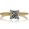 .91 ct. Princess Cut Solitaire Ring #3