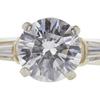 1.02 ct. Round Cut Bridal Set Ring, E, SI1 #1