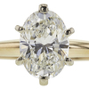 1.5 ct. Oval Cut Solitaire Ring, H, VVS2 #4