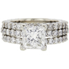 2.53 ct. Princess Cut Solitaire Ring, I, VS2 #3