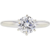 1.04 ct. Round Cut Solitaire Ring, J, I1 #3