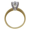 1.21 ct. Round Cut Bridal Set Ring, H, I1 #3