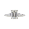 1.75 ct. Emerald Cut 3 Stone Tiffany & Co. Ring, I, VVS1 #3