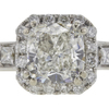 1.02 ct. Cushion Cut Solitaire Ring, I, I1 #4