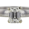 1.02 ct. Emerald Cut Solitaire Ring, I, VS1 #4