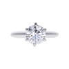 1.5 ct. Round Cut Solitaire Ring, F, VS1 #3