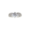 1.38 ct. Round Cut Solitaire Ring, G, SI2 #4