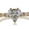 1.29 ct. Heart Cut Solitaire Ring #1