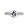 1.02 ct. Round Cut Solitaire Ring, H, VS1 #3