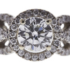 0.8 ct. Round Cut Bridal Set Ring, I, SI2 #4